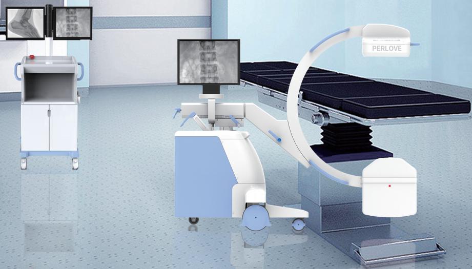 移动式平板C形臂X射线机人性化设计