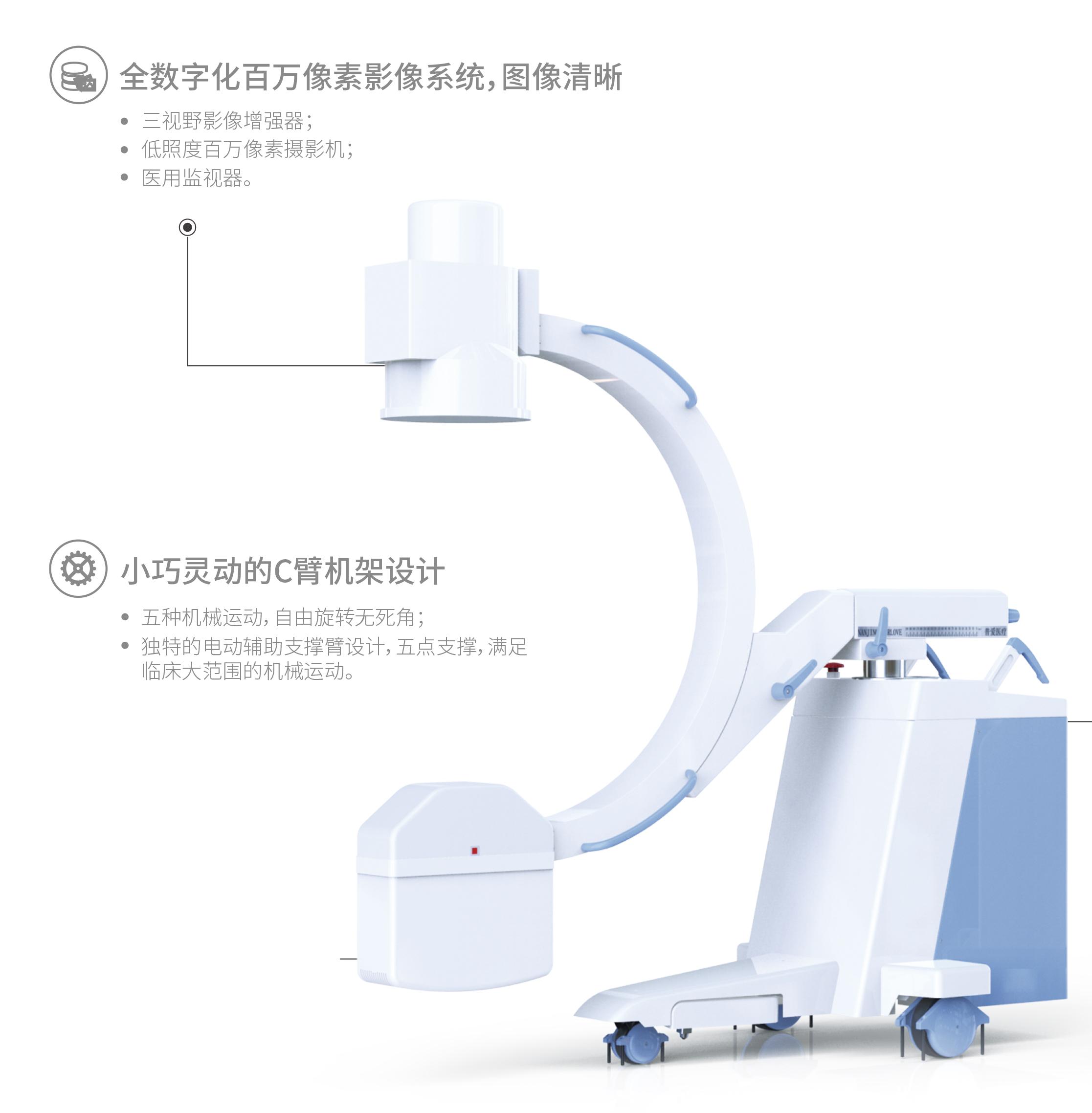 C型臂X光机的数字摄影系统