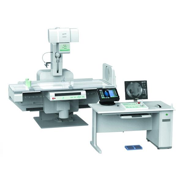 (普朗医疗品牌---PLD8700高频数字胃肠医用诊断X射线机) 这款PLD8700数字胃肠机全面支持透视、胃肠点片、G.I.(钡餐、钡灌肠)、骨科摄影、儿科摄影、胸片、泌尿系统造影、周边血管介入操作、妇科摄影(子宫输卵管造影)等多方面检查,真正实现一机多能。该款数字胃肠机外型美观大方,一体多用,全方位满足临床透视、拍片、造影诊疗需要。 如果您还想对数字胃肠机有进一步了解或者想了解数字胃肠机价格等信息,欢迎您直接拨打400-6656-888咨询,我们将竭诚为您服务!本公司同时售有野战生化分析仪等医疗器械